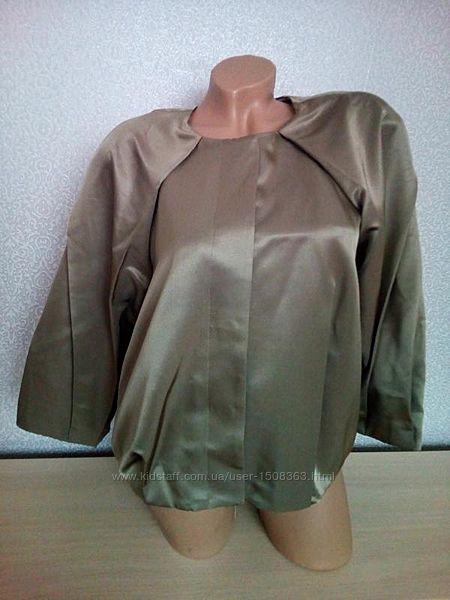 Шелковый костюм от COS