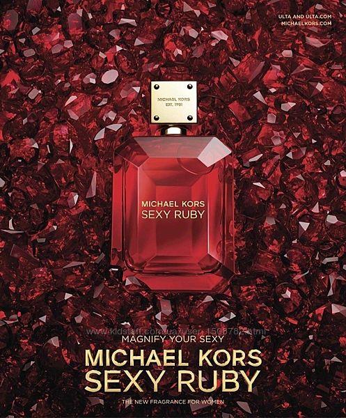 Michael Kors Sexy Ruby парфюмированная вода 100мл оригинал