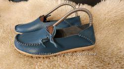 Fashion Shoes кожа мокасіни 39 р по ст 25 см ширина 8. 5 см мягкие