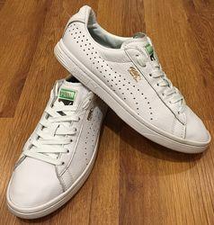 Кожаные мужские кеды, кроссовки Puma. Размер 41, 26 см, Nike, New Balance