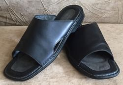 Мужские кожаные шлепанцы сандалии Rockport. Размер 44-45,29.5 см, ессо
