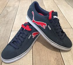 Мужские кожаные кеды кроссовки Puma. Размер 46-47,31 см, Nike, New Balance