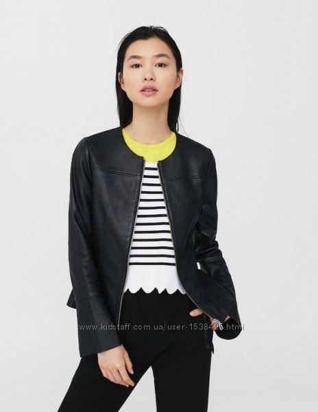 Кожанная куртка Маngo. Оригинал. Новая с бирками. Размер xхs-хs