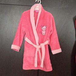 Детский халат Disney Дисней розовый новый