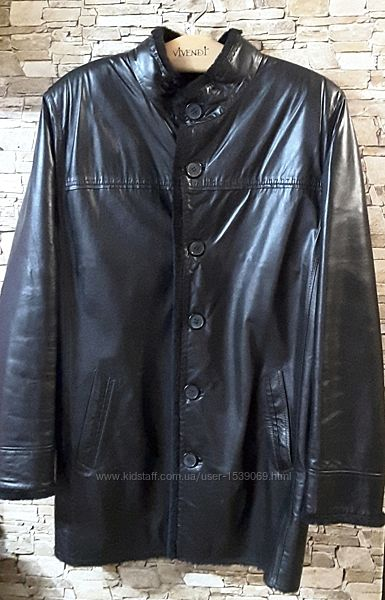 Куртка кожа натуральная тоскана  XL, Giorgio Armani, Италия