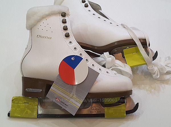 Botas, коньки, 37 размер, стопа 24 см, Чехия