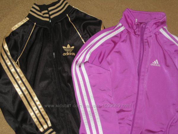 Кофты спортивные Adidas  на 8-10 лет
