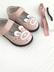 Кожаные туфли 21-25 размер