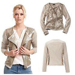 Оригинальный пиджак- жакет с пайетками от тсм чибо германия