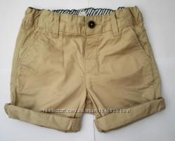 Новые шорты  H&M, р. 86 немного большемерят, ближе к 86-92 см