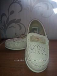 Туфлі-мокасіни для дівчинки Little Dear