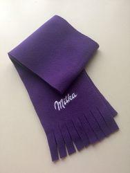Флисовый шарфик Milka