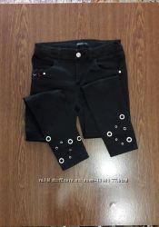 Стильные черные джинсы для девочки Reserved
