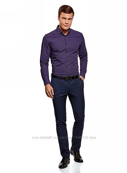 Шовкова стильна чоловіча сорочка