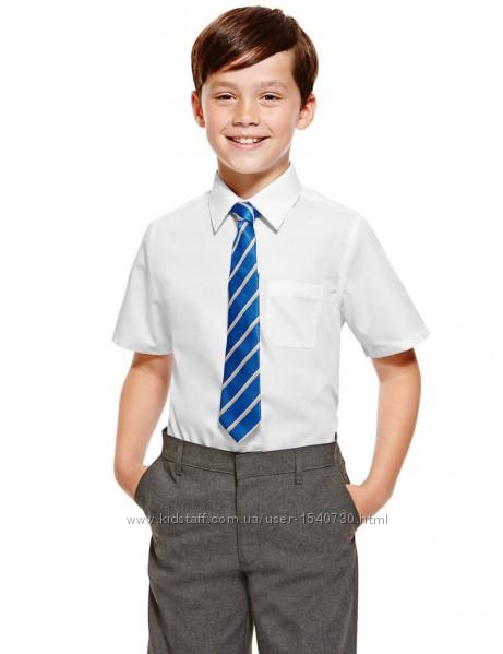 белая рубашка на короткий рукав