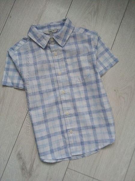 Чудесная летняя рубашка в клетку