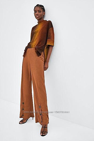 Стильные брюки высокая талия