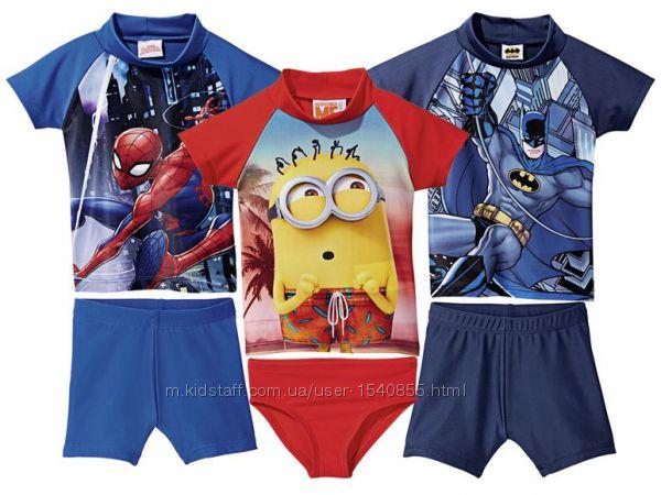 Солнцезащитная футболка для пляжа Spiderman