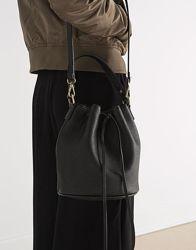 Черная сумка-мешок Pull&Bear