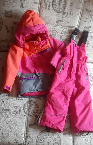 Куртка и штаны, лыжный комбинезон 2г 92см