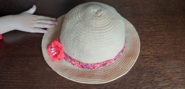 Шляпа девочке панамка