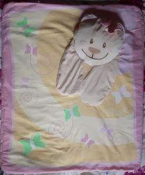Коврик и подушка для малышки chicco
