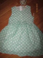 Шикарное шифоновое платье сарафан, 4-12, Венгрия
