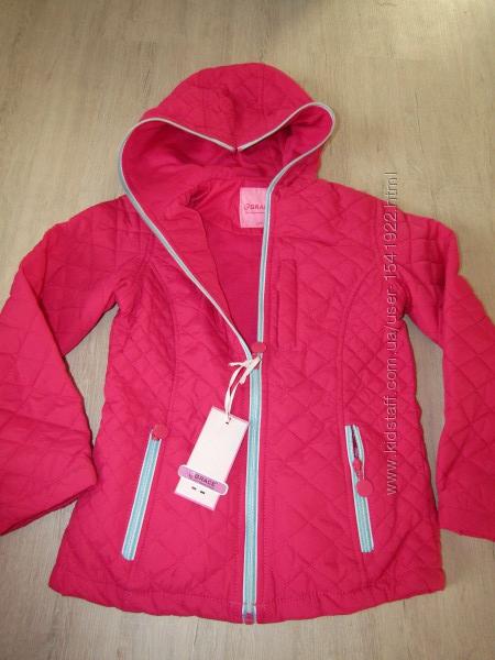Куртка ветровка теплое деми на хб подкладке, 158, Венгрия