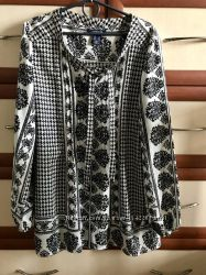 Оригинальная блузка большого размера 14рр