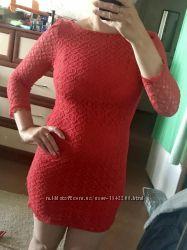 Нарядное кружевное платье 10рр