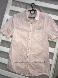 Классная фирменная мужская рубашка XS