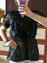 Эффектная блузка из шифона 14рр