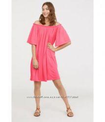 свободное платье оверсайз летнее легкое розовое туника широкое
