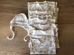 пакет одежда размер 62 боди 68 74 бодик хлопок хлопковый универсальный