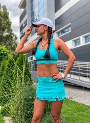 Юбка-шорты от Sport World для спорта, йоги фитнеса, повседневной носки