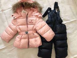Зимний комбинезон АКЦИЯ раздельный шикарного качества для девочки.