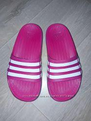 Детские шлепанцы Adidas, для девочки, р К 13