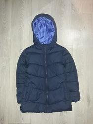 Красивая демисезонные куртка для девочки, 5-6 лет