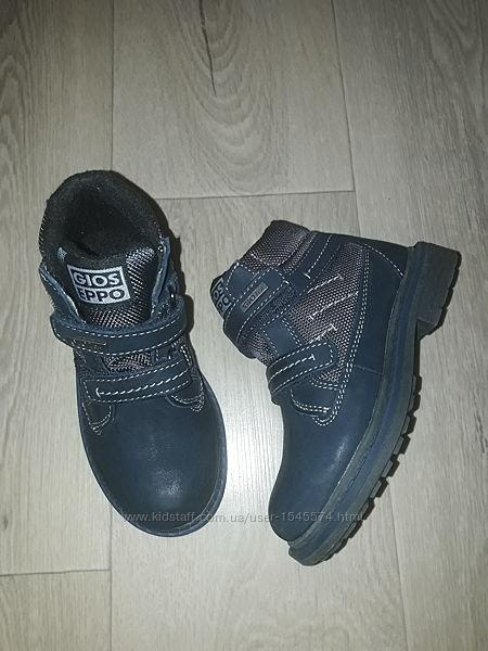Демисезонные ботинки для мальчика, р 27