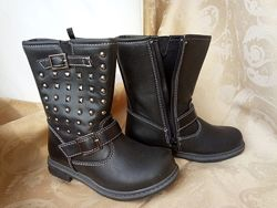 Весенние сапоги ботинки для девочки 26р