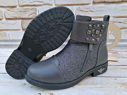 Осенние ботинки для девочки 32-37рр