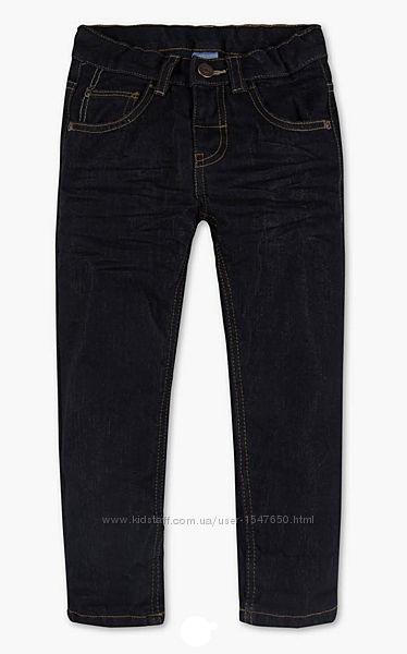 Плотные зимние термо джинсы на флисе на мальчика, Palomino  C&A