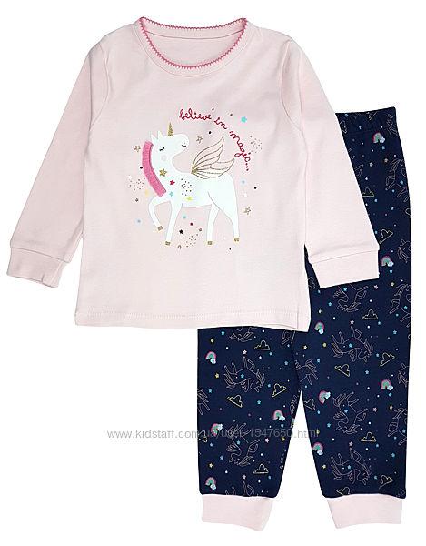 Трикотажная пижама с единорогом на девочек, Primark