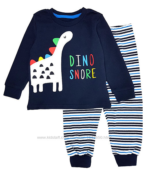 Трикотажная пижама с динозавром на мальчика, Primark