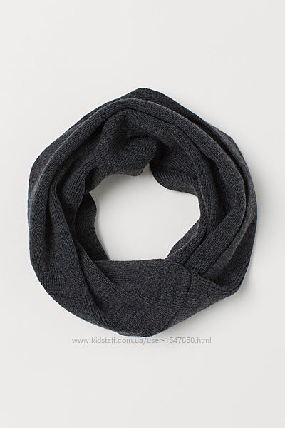 Брендовый снуд, хомут, шарф на мальчика H&M
