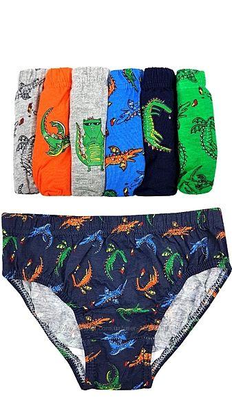 Разноцветные трусы с драконами на мальчика, Primark