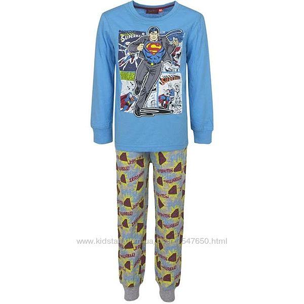Хлопковая пижама с Суперменом на мальчика, sun city / superman