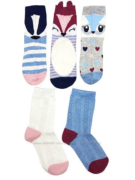 Комплектом носки с животными на девочек, Young Dimension by Primark