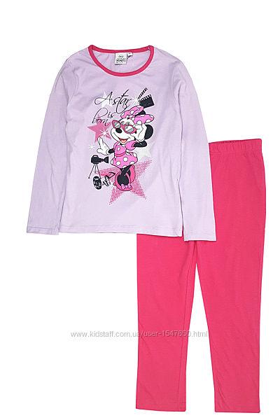 Хлопковая пижама с Минни Маус на девочек, Disney