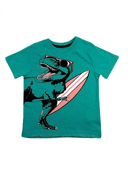 Стильная футболка с динозавром для мальчика primark